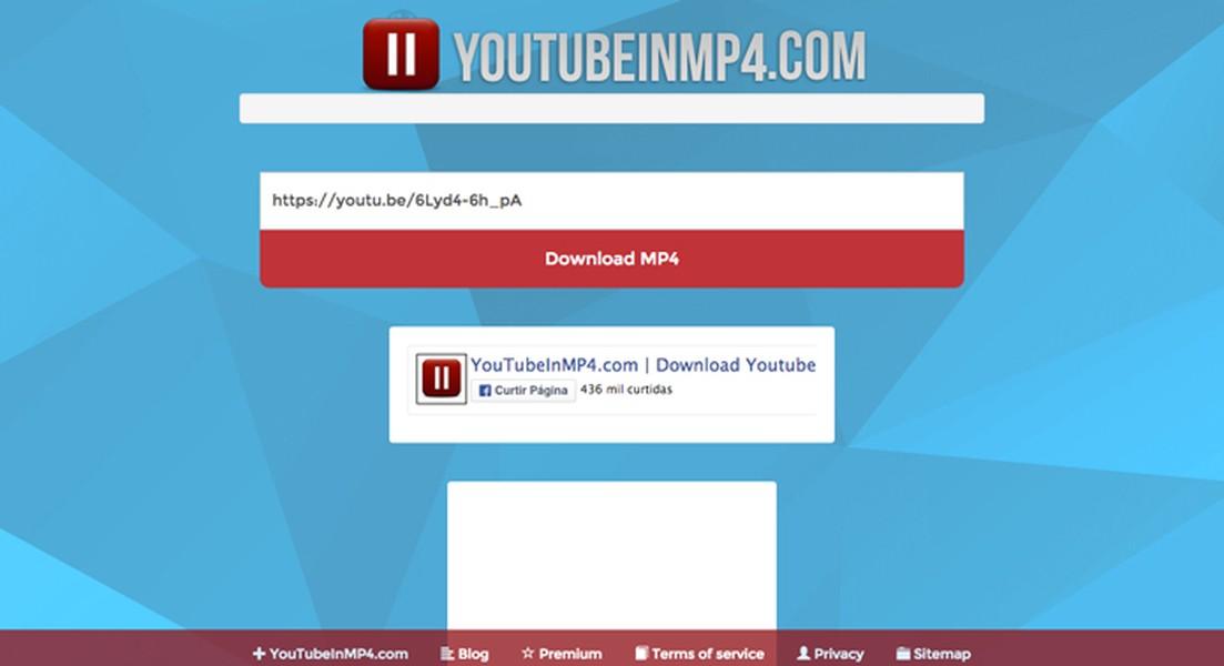 YouTube in MP4   Download   TechTudo