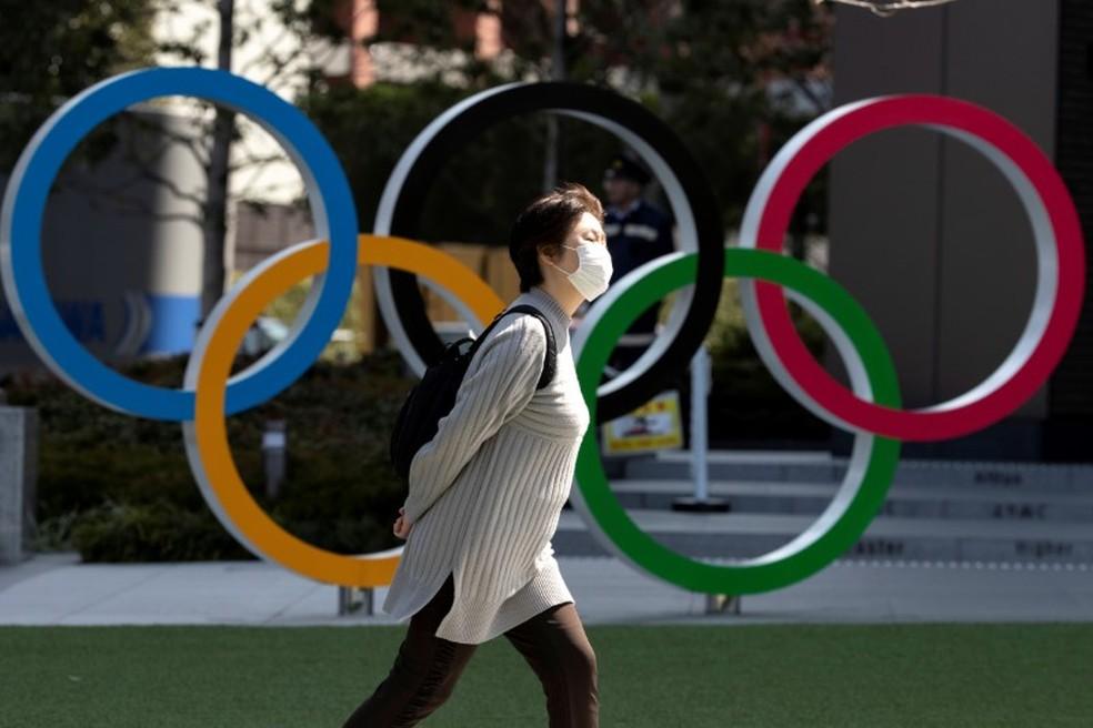 Olimpíadas Tóquio 2020 coronavírus — Foto: REUTERS/Athit Perawongmetha