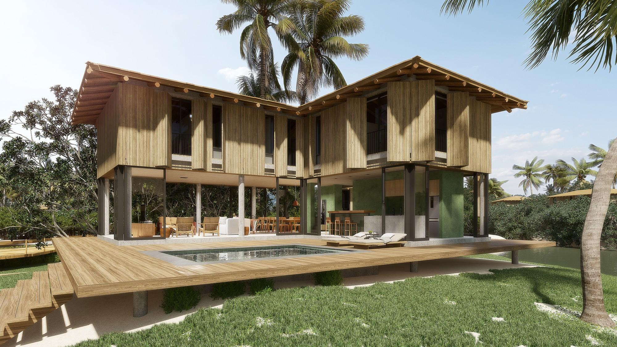 No total, serão 19 casas projetadas pelo arquiteto Gui Mattos (Foto: Divulgação)