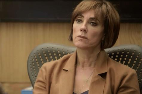'O tempo não para': Christiane Torloni é Carmen (Foto: TV Globo)