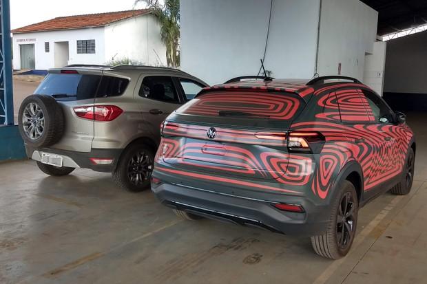 Volkswagen Nivus Ford EcoSport (Foto: Rodrigo Ribeiro)