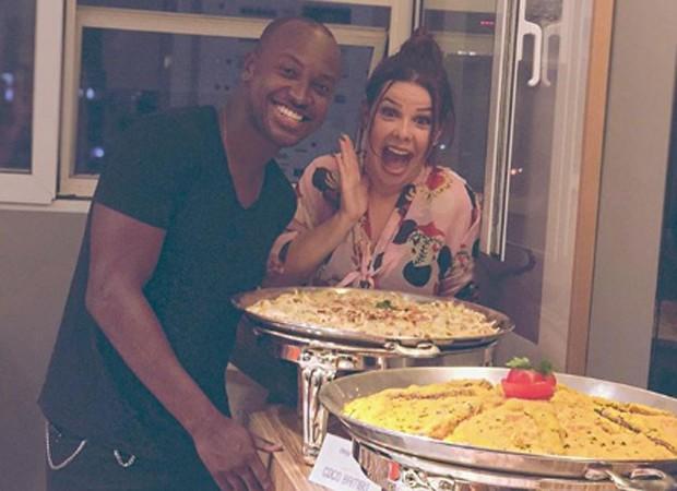 Thiaquinho e Fernanda Souza (Foto: Reprodução/Instagram)