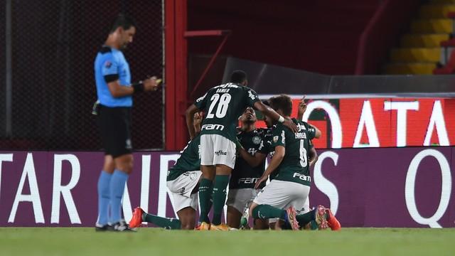 Palmeiras teve enorme atuação em Avellaneda
