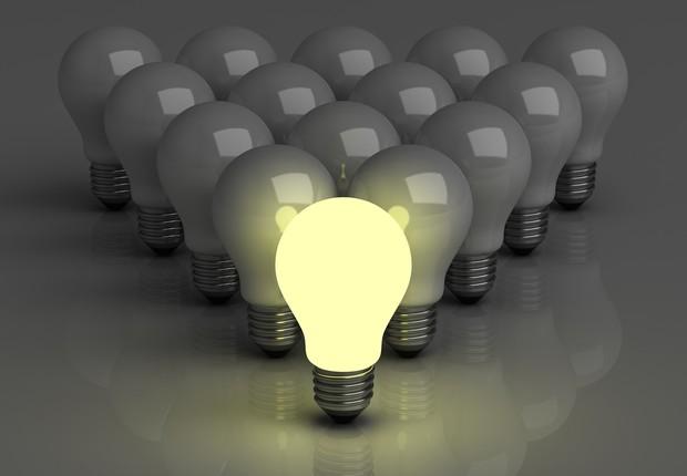 Lâmpada; Empreendedorismo; Inspiração; Ideia; Liderança; Luz;  (Foto: Shutterstock)