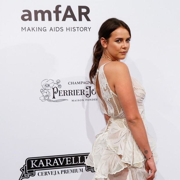SAO PAULO, BRAZIL - APRIL 13: Pauline Ducruet attends  the 2018 amfAR Gala Sao Paulo at the home of Dinho Diniz on April 13, 2018 in Sao Paulo, Brazil. (Photo by Alexandre Schneider/Getty Images for amfAR) (Foto: Getty Images for amfAR)