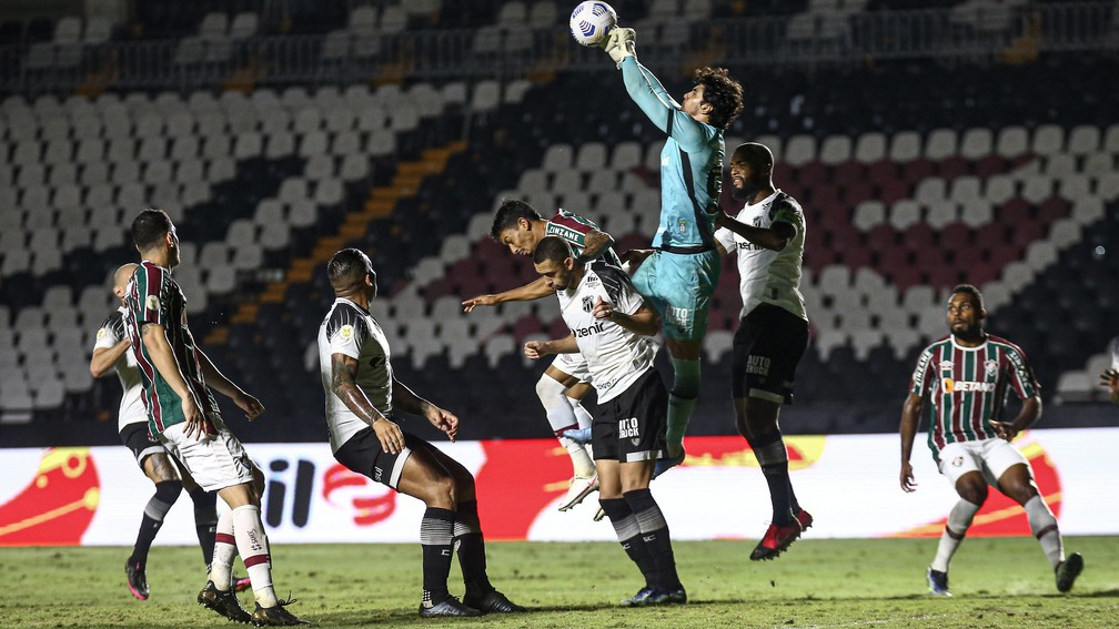 Fluminense x Ceará, São Januário — Foto: LUCAS MERÇON / FLUMINENSE F.C.