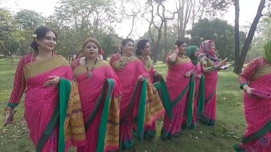 Veja imagens do festival em Daca, Bangladesh, que celebra ano novo em abril de 2018