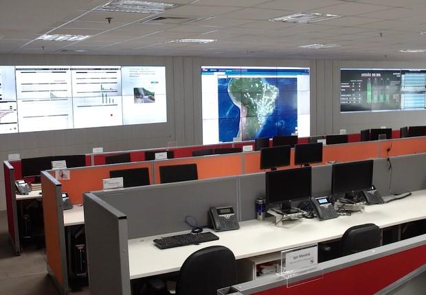 Centro de Controle Operacional da BRF (Foto: BRF)