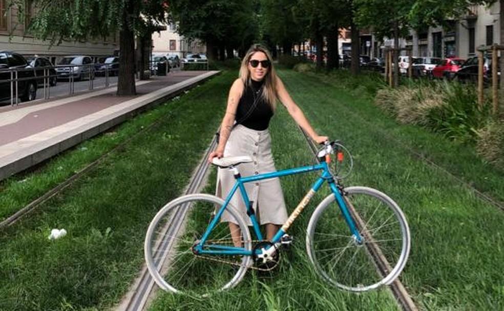 Mariana Martini mora há 6 anos em Milão e relata mudança na rotina por conta de casos de coronavírus na Itália — Foto: Mariana Martini/Arquivo Pessoal