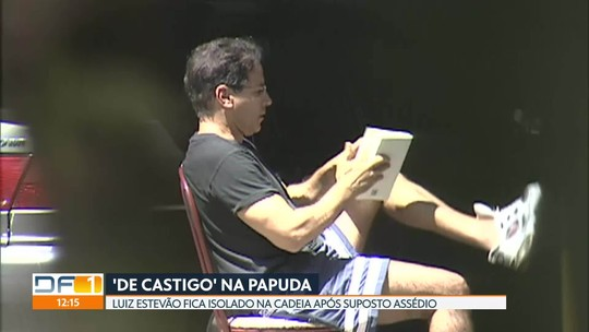 Luiz Estevão fica em isolamento na Papuda por suposto assédio contra agente penitenciária