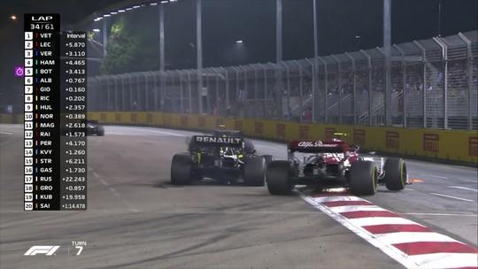 Após liderar pela primeira vez, Giovinazzi é punido mas escapa de perder ponto de décimo lugar