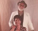 Antonio Fagundes e Eliane Giardini caracterizados para 'Dois irmãos' | Reprodução