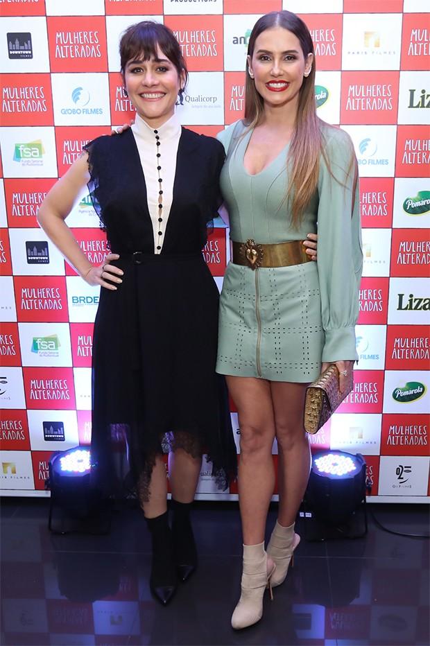 Alessandra Negrini e Deborah Secco (Foto: Roberto Filho/ BrazilNews)