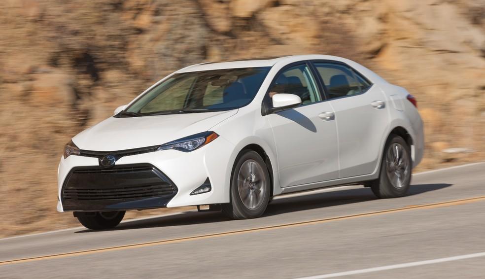 Toyota Corolla vendido nos EUA é diferente do brasileiro (Foto: Divulgação)