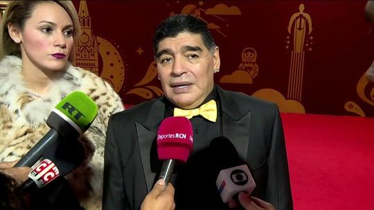 """Última Copa de Messi? Maradona responde: """"Vai depender do que ele quer"""""""