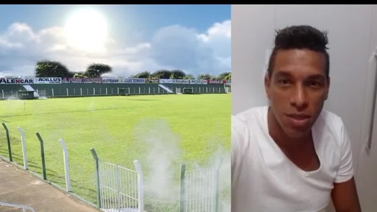 Em vídeo, goleiro Carlão se declara ao TEC e diz que torcida é a maior do norte do estado