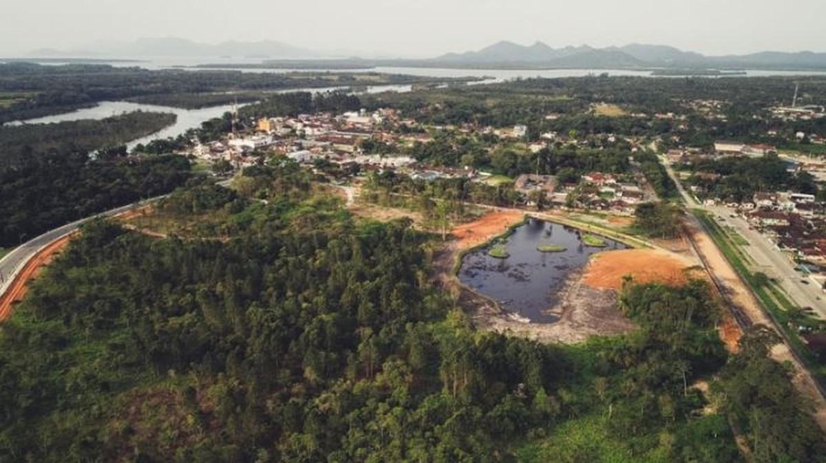 Prefeitura de Araquari faz enquete para escolher nome de parque - G1