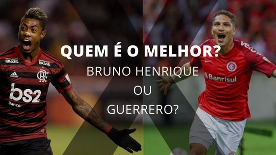 Quem está melhor no momento: Bruno Henrique ou Guerrero?