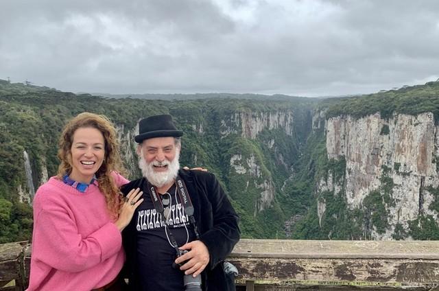Francisca Queiroz e Giuseppe Oristanio (Foto: Arquivo pessoal)
