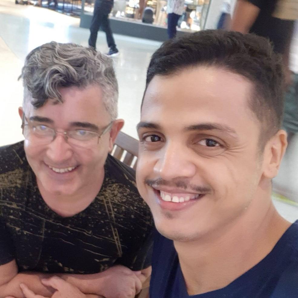 """Primeiro casamento homoafetivo em Rondônia surgiu através de um """"webnamoro"""" — Foto: Redes Sociais/Reprodução"""
