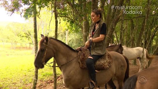 Rodaika conhece família que transformou sua paixão por cavalos em negócio