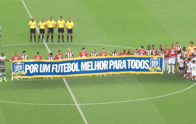 Bom Senso Botafogo e Portuguesa (Foto: Thales soares)