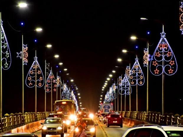 Pontos considerados turísticos em São Luís irão receber os símbolos natalinos (Foto: A.Baeta)