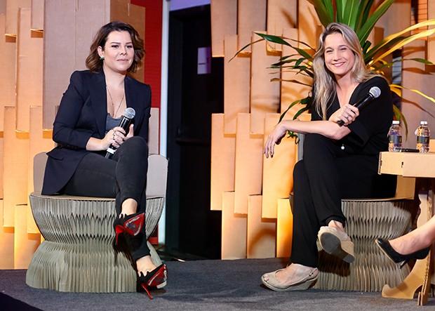 Fernanda Souza e Fernanda Gentil (Foto: Manuela Scarpa/Brazil News)