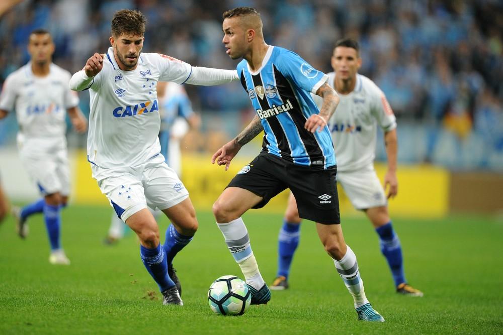 Barrios marca, e Grêmio sai em vantagem sobre o Cruzeiro na semi da Copa do Brasil