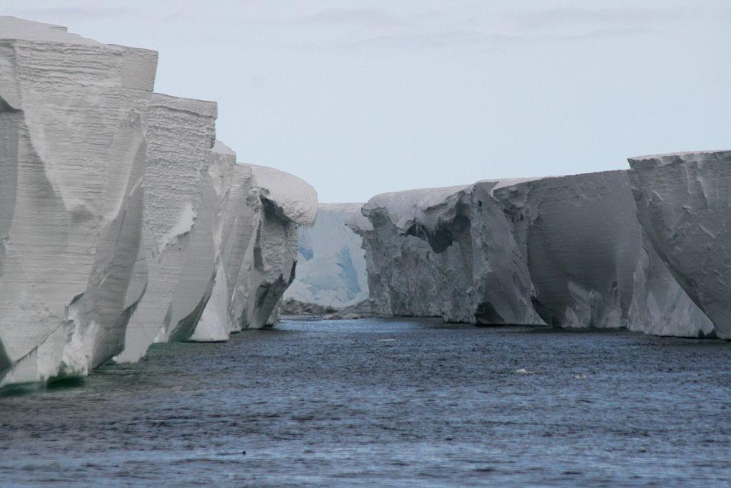 Plataforma de gelo Ross (Foto: Wikipedia / lin padgham)