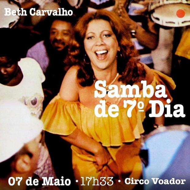 Beth Carvalho vai ganhar samba de sétimo dia  (Foto: Getty Images)
