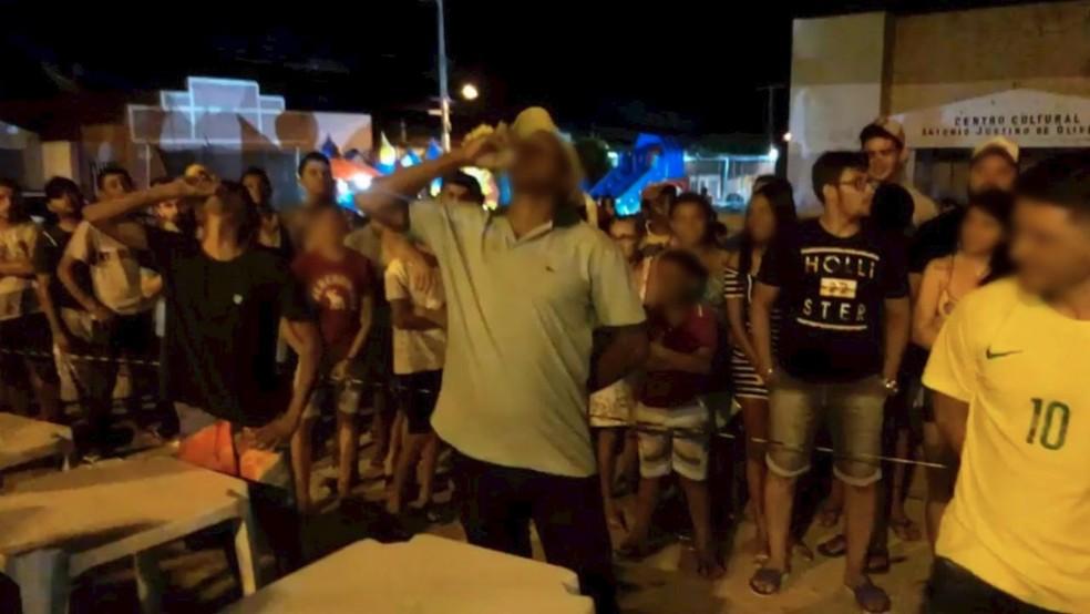 Competição aconteceu durante comemorações pela emancipação de Rafael Fernandes, no Alto Oeste potiguar — Foto: Reprodução