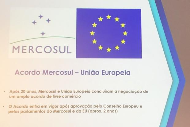 Mercosul UE (Foto: Thais Villaça)