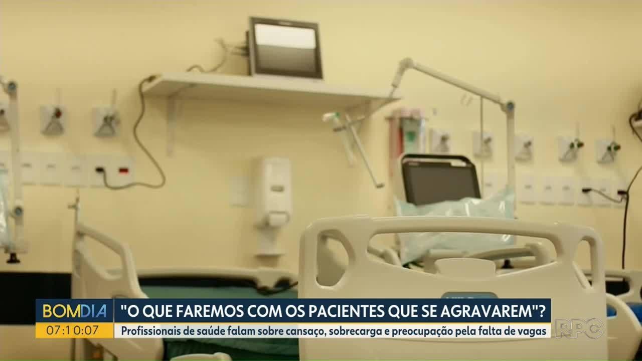 Médicos relatam preocupação com a superlotação e cansaço do trabalho nas unidades