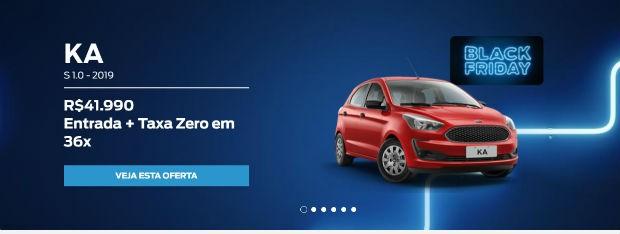 Ofertas Ford Black Friday 2018 (Foto: Divulgação)