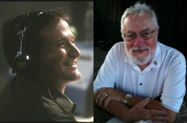 Robin Williams em Bom Dia, Vietnã e Adrian Joseph Cronauer (Foto: Divulgação/Reprodução)