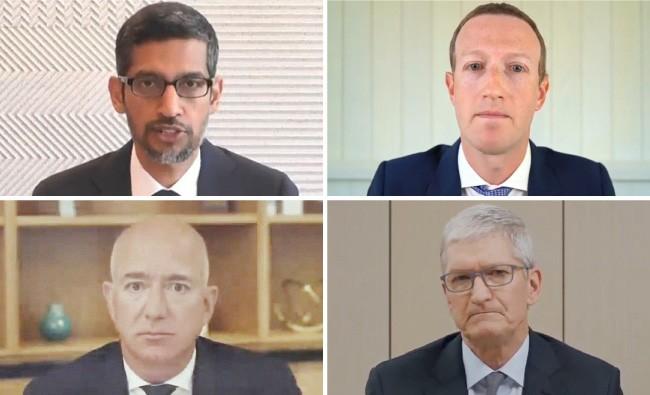 CEOs de gigantes da tecnologia se defendem em audiência no Congresso dos EUA