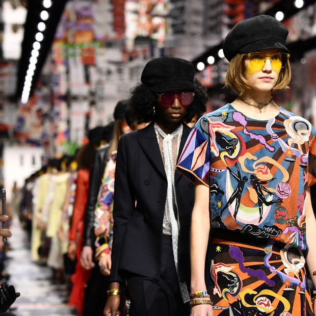 Dior inverno 18/19 (Foto: Getty)