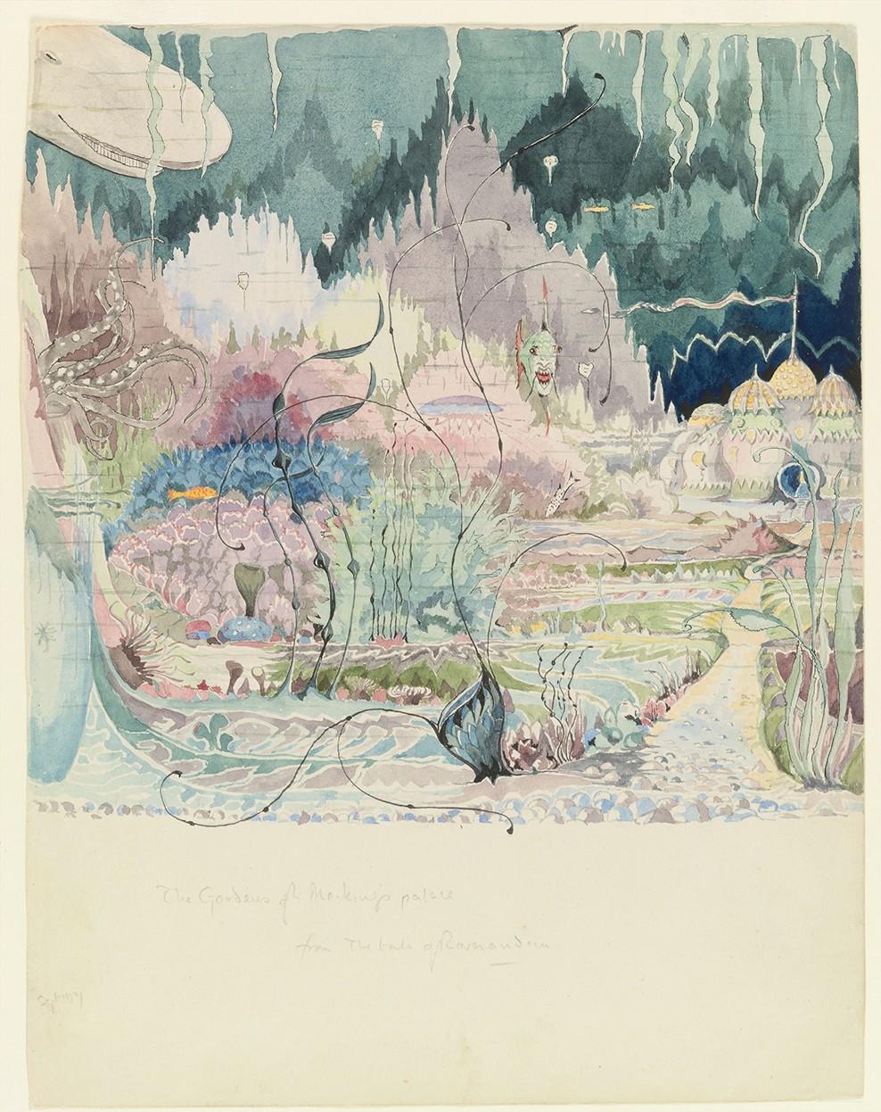 Ilustração de Roverandom (Foto: © Tolkien Trust 1992)