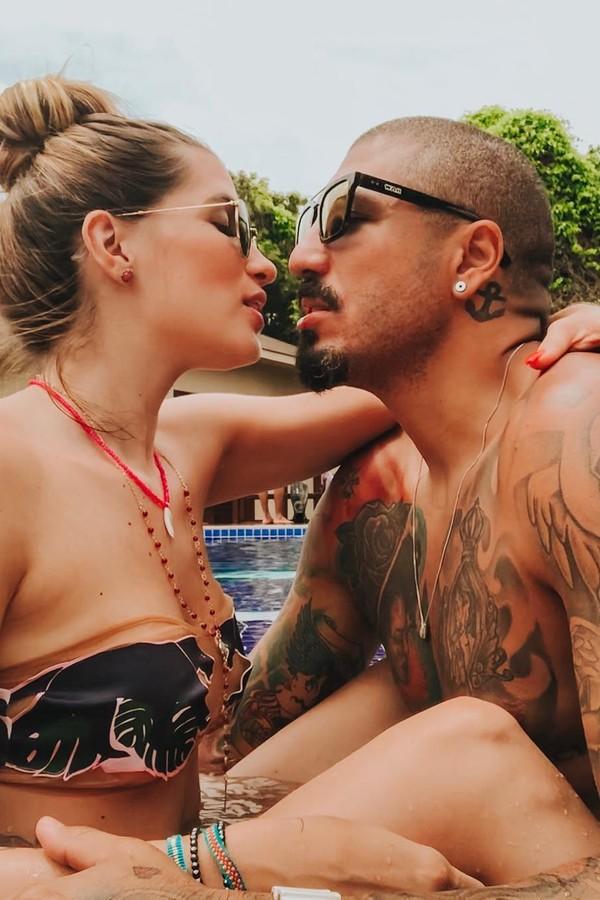 Aline Gotschalg e Fernando (Foto: Instagram/Reprodução)