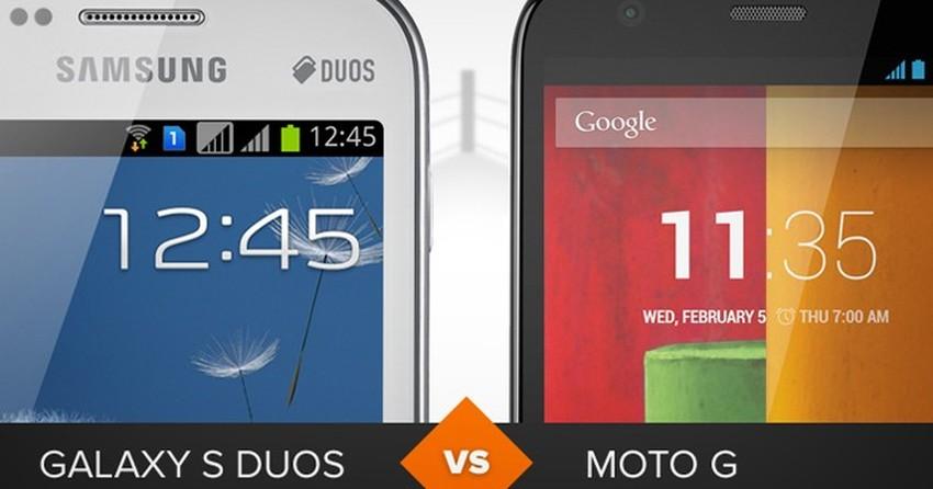 Galaxy S Duos ou Moto G? Veja o comparativo de celular da semana