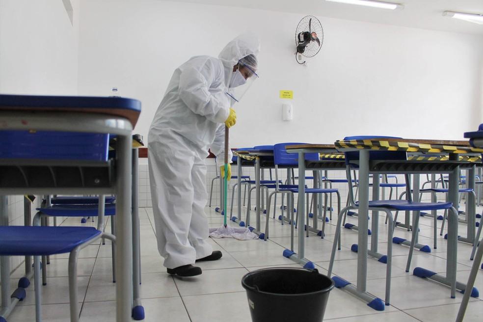 Aulas no Paraná vão voltar no dia 18 de fevereiro, segundo o governo — Foto: Divulgação/Seed-PR
