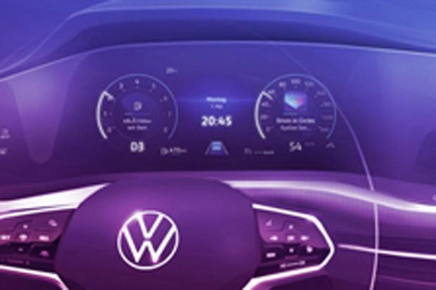Volkswagen Golf terá funções semi-autônomas (Foto: Divulgação)