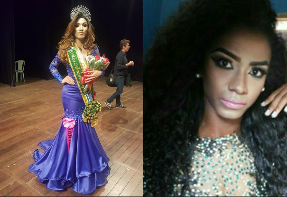 Caso envolveu a vencedora Lívia Miller e a candidata Jooh Santos (Foto: Miss Amapá Gay)
