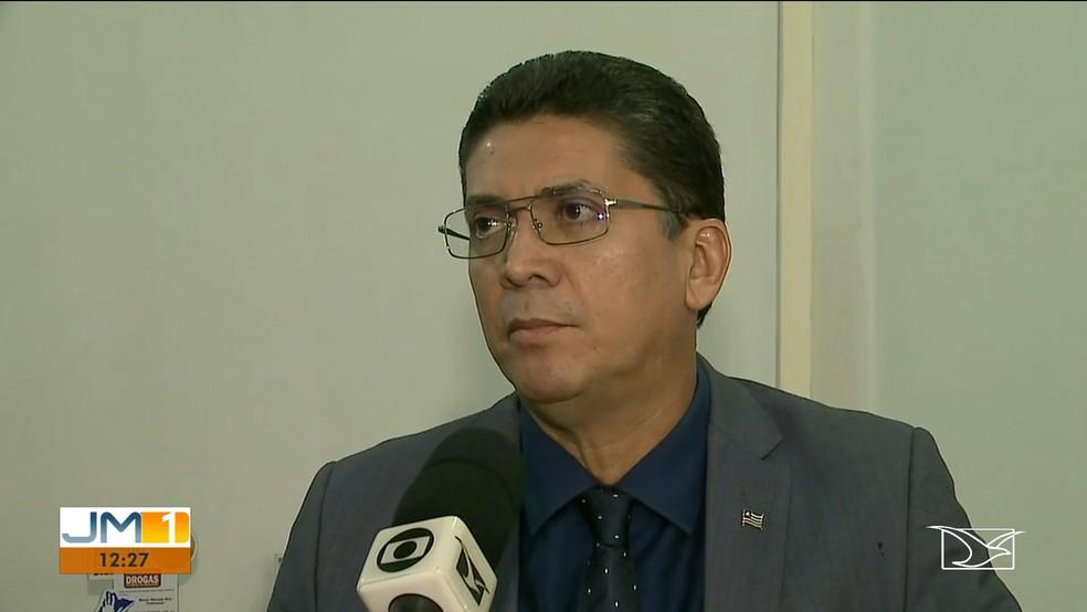Secretário de Segurança Pública, Jefferson Portela, nega ter determinado as investigações. — Foto: Reprodução/TV Mirante