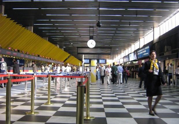 Aeroporto de Congonhas em São Paulo (Foto: Wikimedia Commons/Wikipedia)