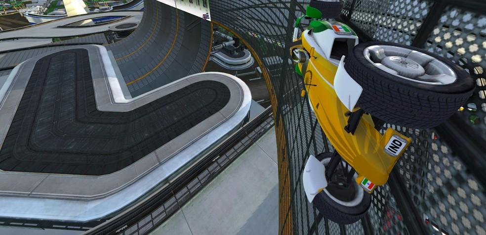 Trackmania Nations ganha remake no Windows — Foto: Divulgação/Ubisoft