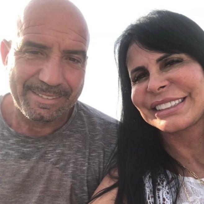 Gretchen e o marido, Carlos Marques (Foto: Reprodução Instagram)