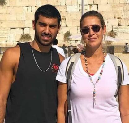 Luana Piovani com o namorado israelense (Foto: Reprodução)