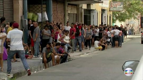 Mutirão de renegociação de dívidas leva milhares de pessoas para o Procon em Fortaleza